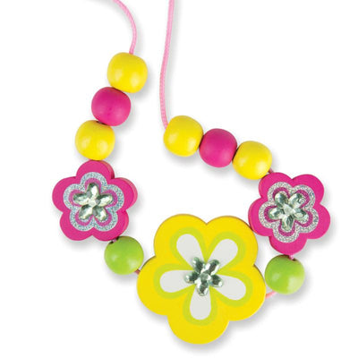 Melissa & Doug Decorate Your Own Flower Bead Set