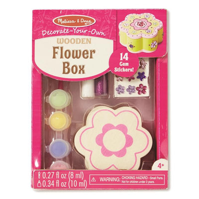 Melissa & Doug Decorate Your Own Flower Box