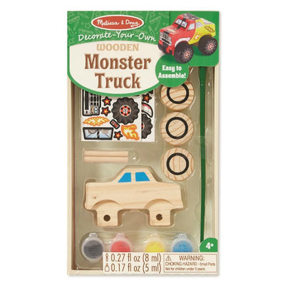 Melissa & Doug Decorate Your Own Monster Truck