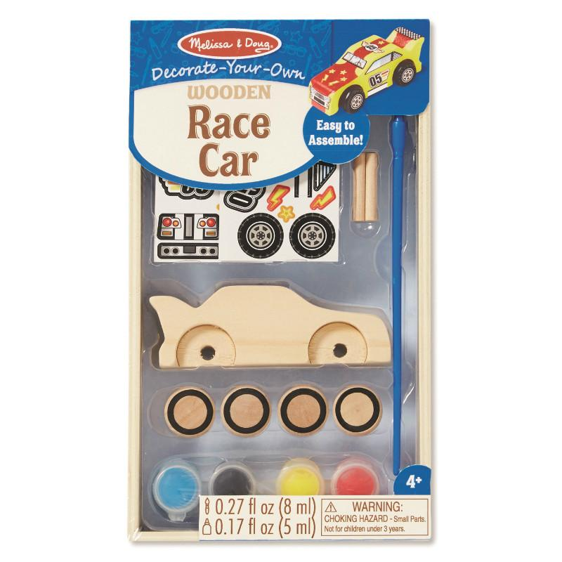 Decorate Your Own Race Car