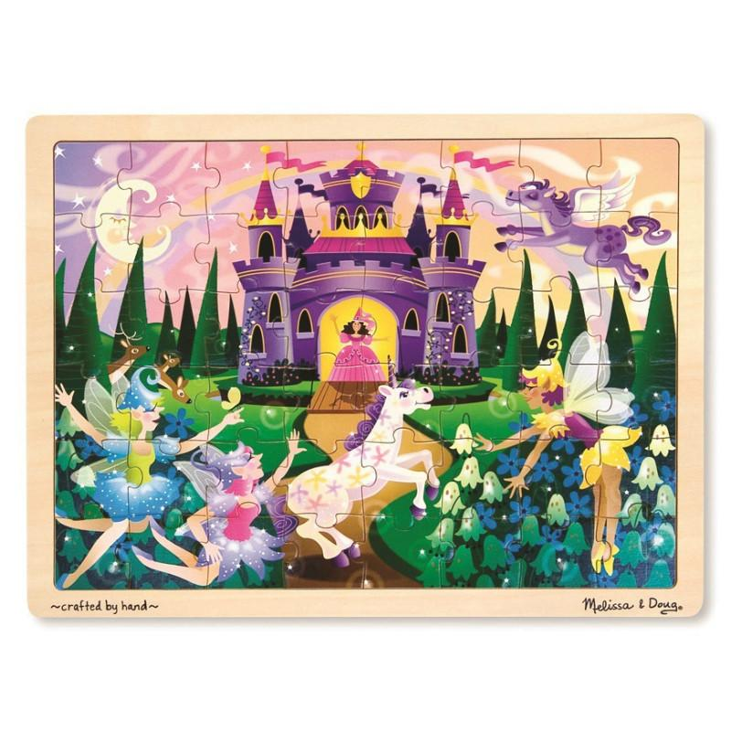Melissa & Doug Fairy Fantasy Jigsaw - 48pc