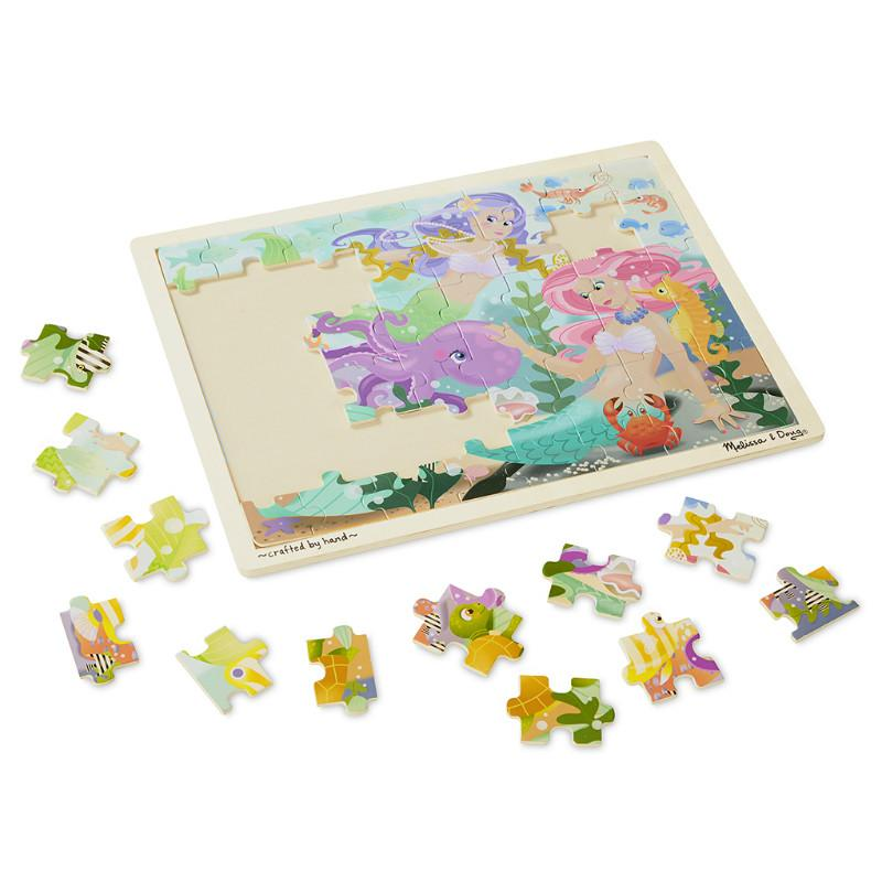 Melissa & Doug Mermaid Fantasea Jigsaw - 48pc