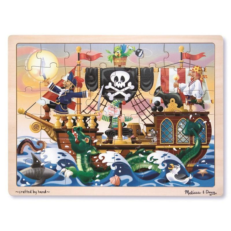 Melissa & Doug Pirate Adventure Jigsaw - 48pc