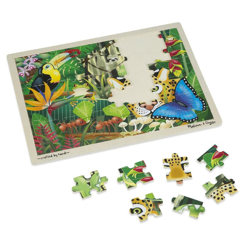 Melissa & Doug Rainforest Jigsaw - 48pc