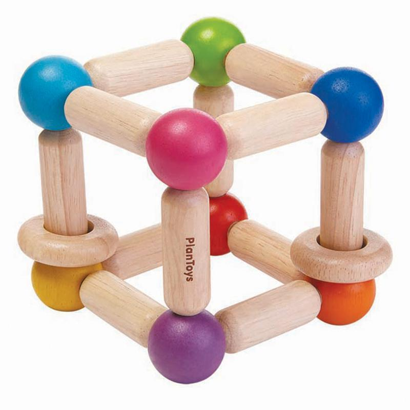 PlanToys Square Clutching Toy