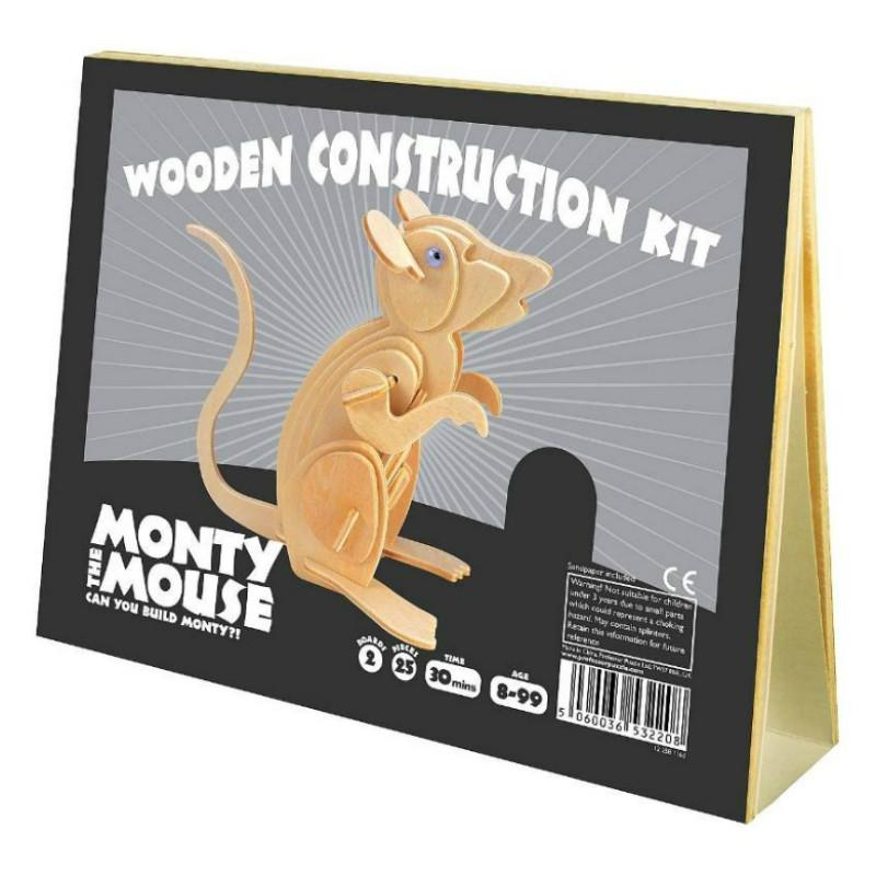 Professor Puzzle Monty the Mouse Construction Kit