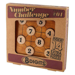 Number Challenge - 8 Digits