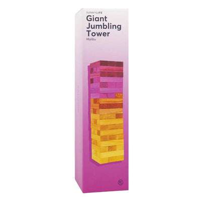 Sunnylife Giant Jumbling Tower Malibu