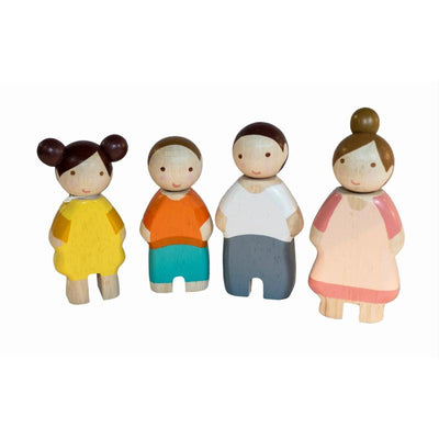 Tender Leaf Toys Wooden Family of Four