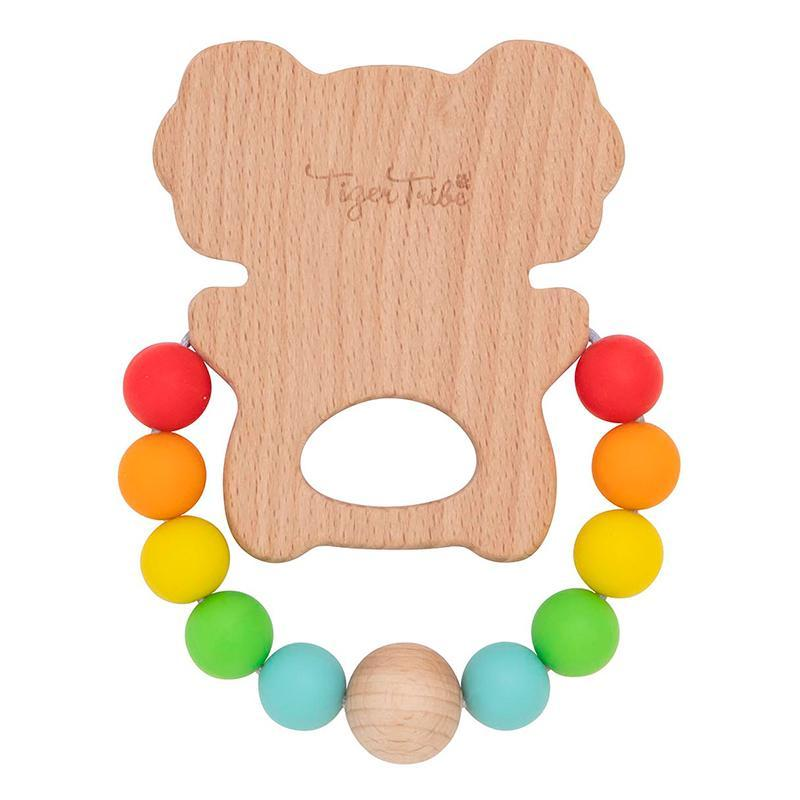 Tiger Tribe Wooden Silicone Teether Koala