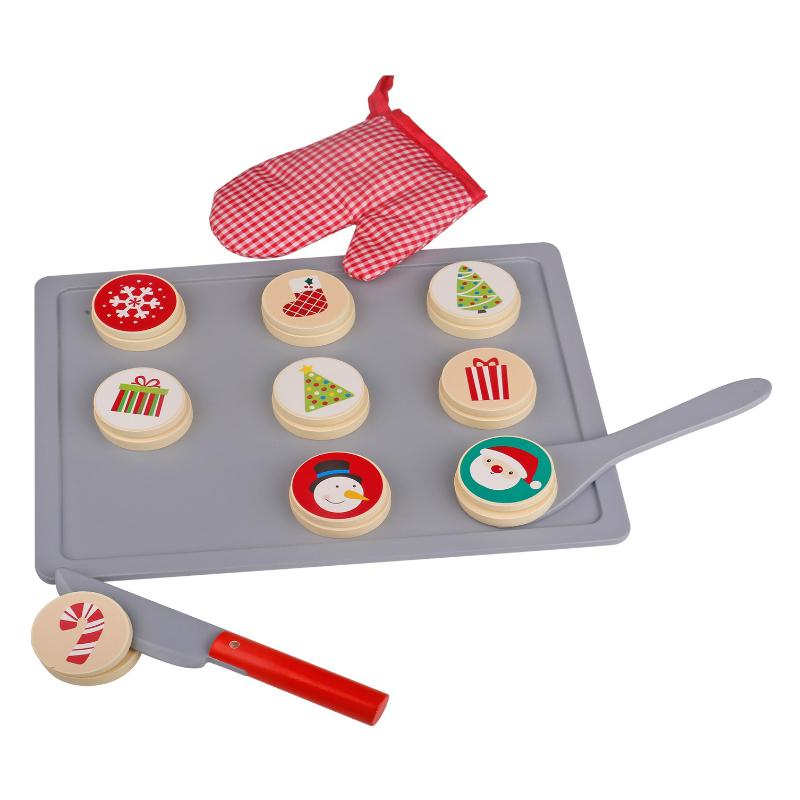 Tooky Toy Christmas Cookies Tray