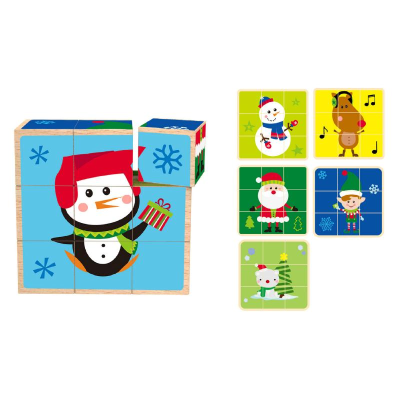 Tooky Toy Christmas Block Puzzle