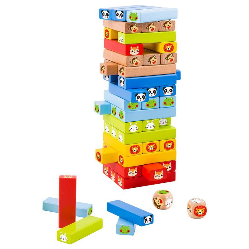 Stacking Game Animals