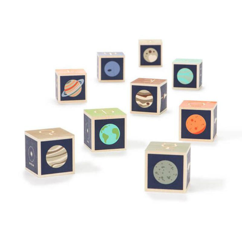 Uncle Goose Planet Blocks - Set of 9