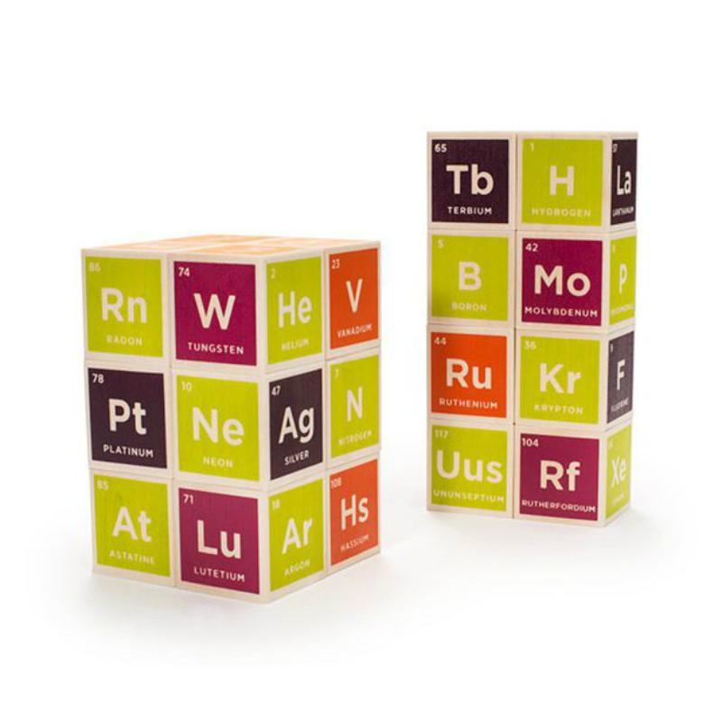 Uncle Goosen Periodic Table Blocks - Set of 20
