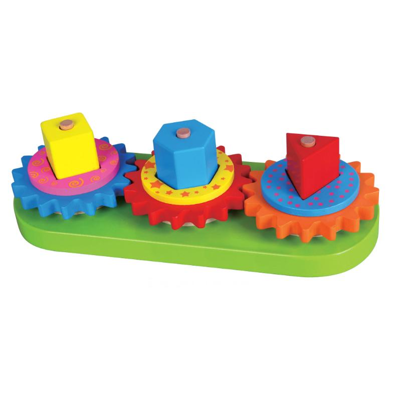 Stacking Blocks with Gears