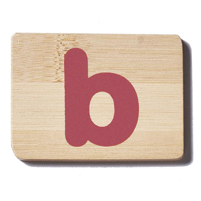 Everearth Name Train Letter - B Lowercase