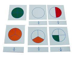 Large Fraction Skittle Cards