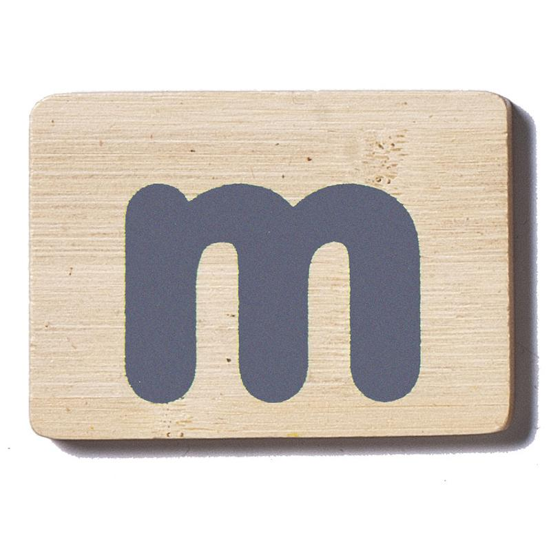 EverEarth Name Train Letter - M Capital