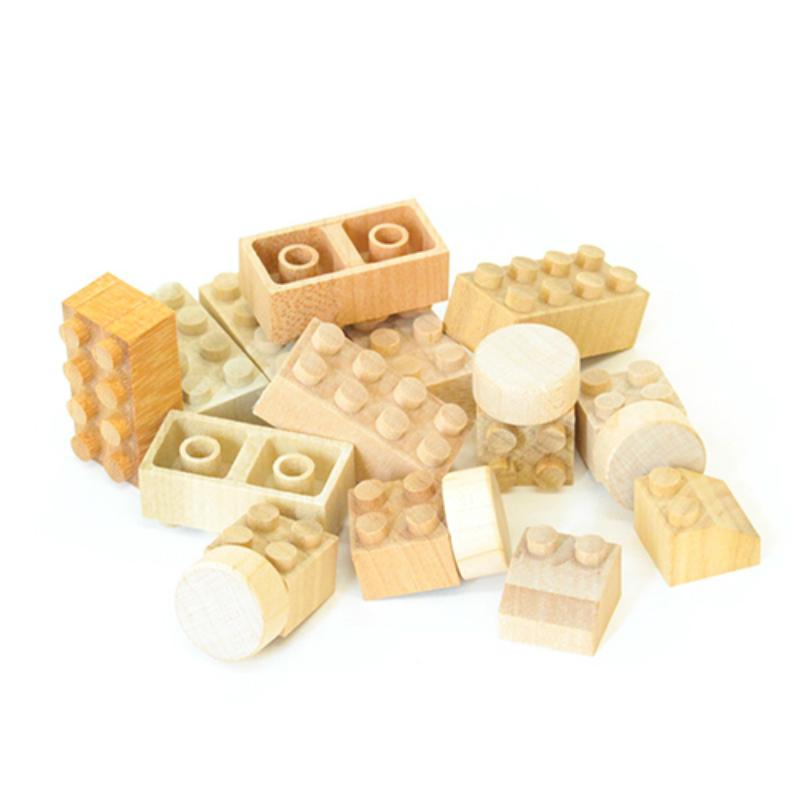 Mokulock Building Bricks - Bu-Bu 14 Piece Set