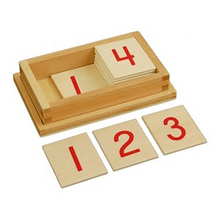 Printed Numerals with Box