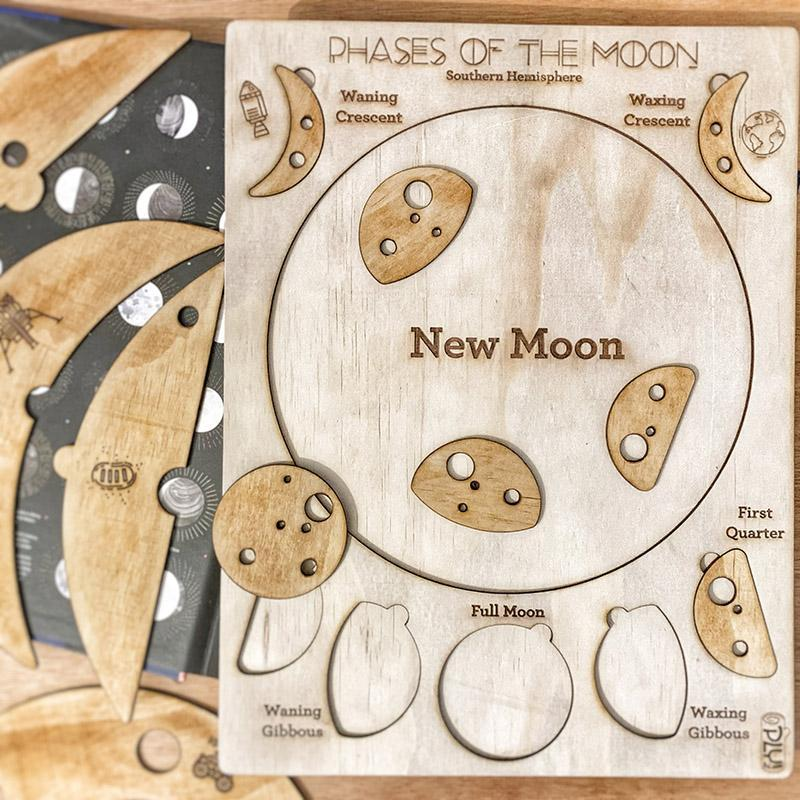 Plyful Phases of the Moon