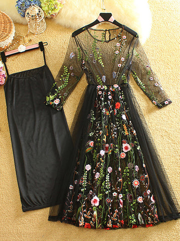 2017 Chic Homecoming Dress Scoop Black Applique Tulle Short Prom Dress AM104