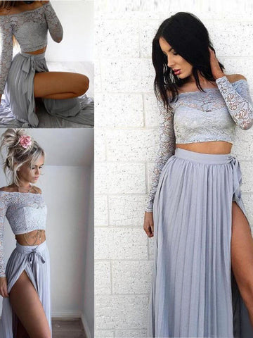 long sleeve prom dresses and prom dresses with sleeves | AmyProm.com
