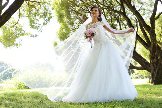 A Line Wedding Gown With Sleeves: Chic Wedding Dresses A-line Bateau Short Sleeve Lace
