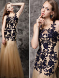 Chic Beautiful Prom Dresses Mermaid Floor Length Modest Cheap Long Prom Dress AMY116