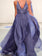 A-line V neck Long Prom Dress Simple Cheap Cheap Long Prom Dresses Evening Dress AMY1423