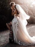 Romantic Sweetheart Wedding Dress Bohemio Wedding Elegant Bridal Gowns AMY2704