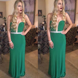 2018 Sheath/Column Prom Dresses Sweetheart Floor-length Chiffon Prom Dress Evening Dresses AMY402
