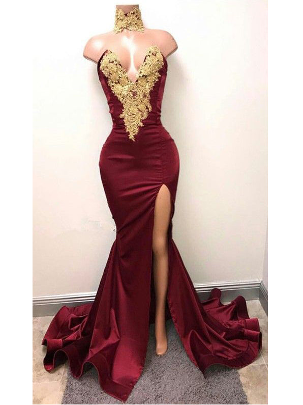 2018 Prom Dresses Mermaid Prom Dresses Amp Burgundy Prom