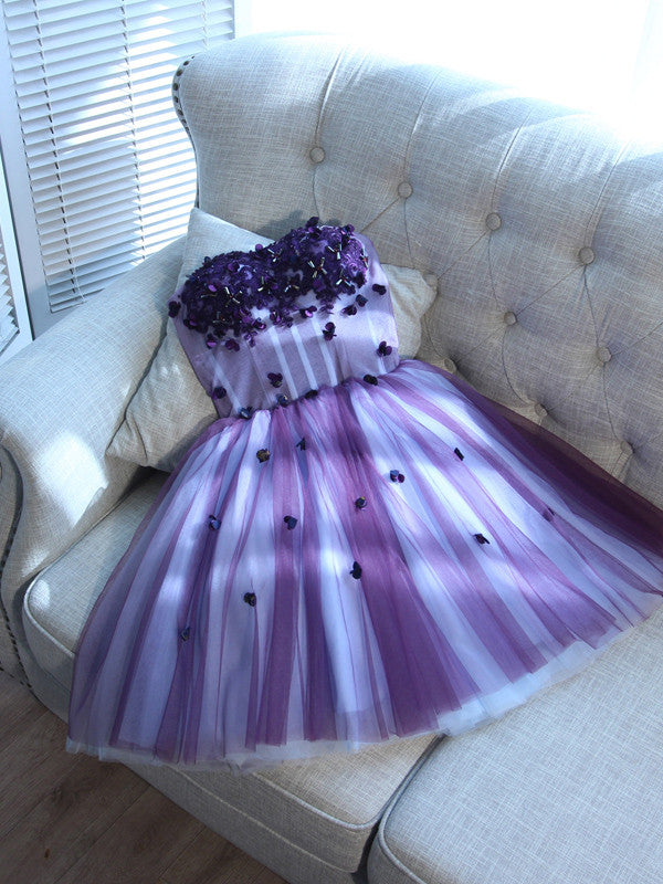 Sweetheart Homecoming Dress Short/Mini Prom Drsess Juniors Homecoming Dresses SKY022