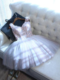 Pretty Homecoming Dress Sweetheart Short/Mini Prom Drsess Juniors Homecoming Dresses SKY038