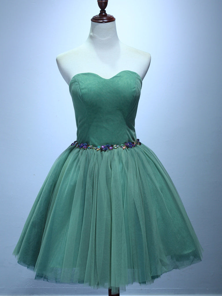Charming A-line Homecoming Dress Sweetheart Short/Mini Prom Drsess Juniors Homecoming Dresses SKY054