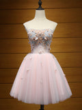 Charming A-line Homecoming Dress Short/Mini Prom Drsess Juniors Homecoming Dresses SKY057