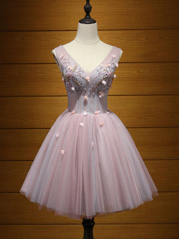 Charming A-line Homecoming Dress Short/Mini Prom Drsess Juniors Homecoming Dresses SKY058
