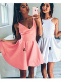 A-line Homecoming Dress 2017 Short Prom Drsess Juniors Homecoming Dresses SKY105