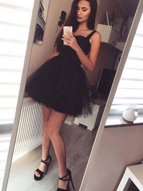 Black Homecoming Dress 2017 Short Prom Drsess Juniors Homecoming Dresses SKY110
