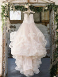 A-line Prom Dress Sweetheart Tulle Long Prom Dresses/Evening Dress SKY171