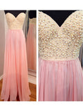 A-line Sweetheart Prom Dress Chiffon Prom Dresses/Evening Dress SKY268
