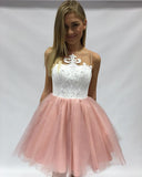 A-line Homecoming Dress Short/Mini Prom Drsess Juniors Homecoming Dresses SKY341
