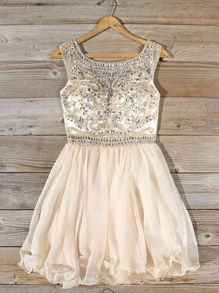 Homecoming Dress 2017 Scoop Short/Mini Juniors Homecoming Dresses SKY353