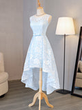 2017 A-line Scoop Tulle Short Prom Drsess Prom Dress SKY428