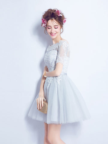 2017 A-line Homecoming Dress Short Party Dress Cocktail Dresses SKY464