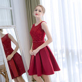 2017 A-line Homecoming Dress Short Party Dress Cocktail Dresses SKY473