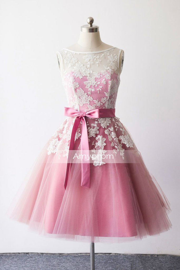 2017 A-line Homecoming Dress Short Party Dress Cocktail Dresses SKY495