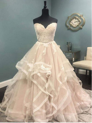 2017 A-line Sweetheart Prom Dress Party Dress Evening Dresses SKY500